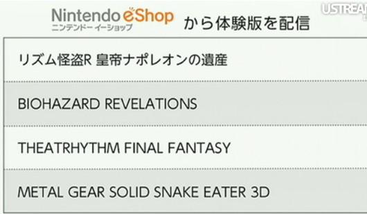 Nuevos demos de 3DS en Japon… ¿proximamente en America?