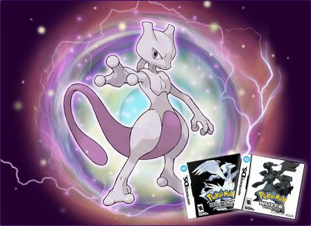 Fans de Pokemon: Mewtwo en Pokemon Blanco/Negro