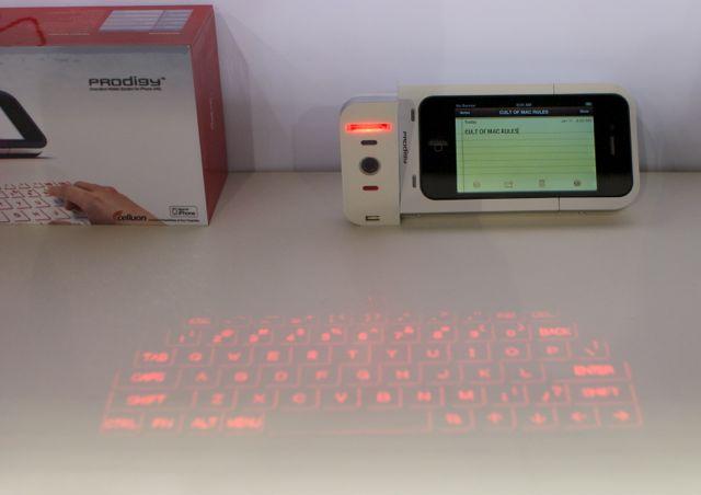 Prodigy iPhone Battery Te agrega un Teclado Infrarrojo