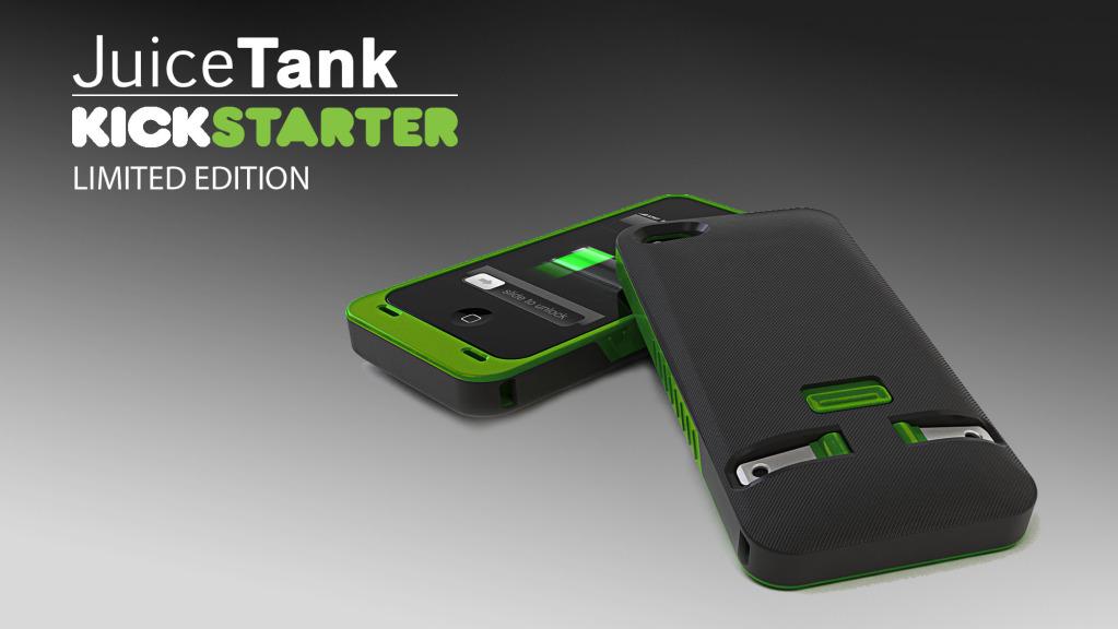 JuiceTank Carcasa Para Iphone 4/4S Con Cargador Incluido