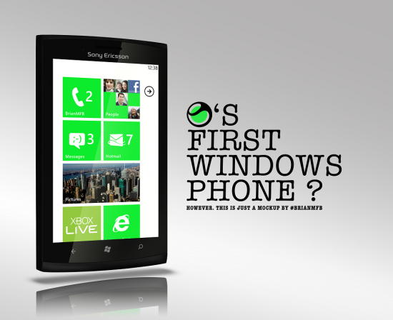 Sony producira celulares con Windows Phone para finales de 2012