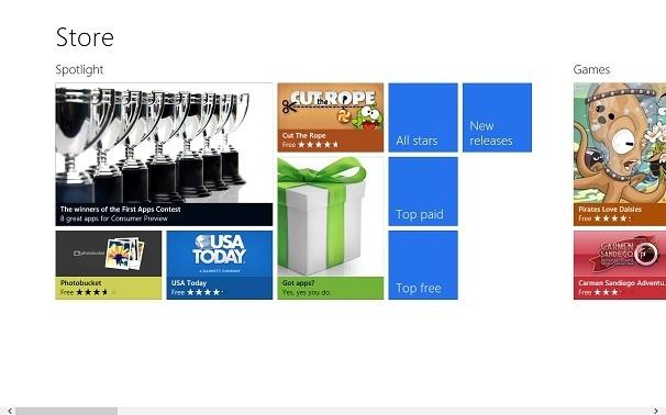 Windows 8 y una Store con Mucho Futuro