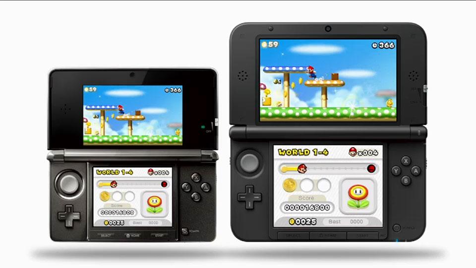 Nintendo 3DS XL Anunciado: Pantallas 90% Más Grandes (Vídeo, Fotos)