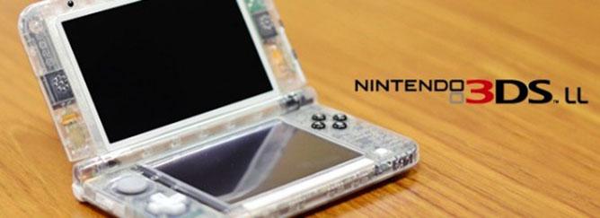 Conoce El Nintendo 3DS XL Transparente