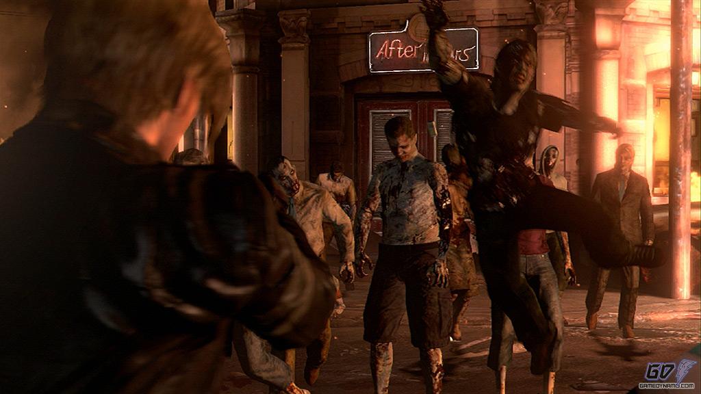 Resident Evil Code 6 Demo Dos Personajes Ocultos