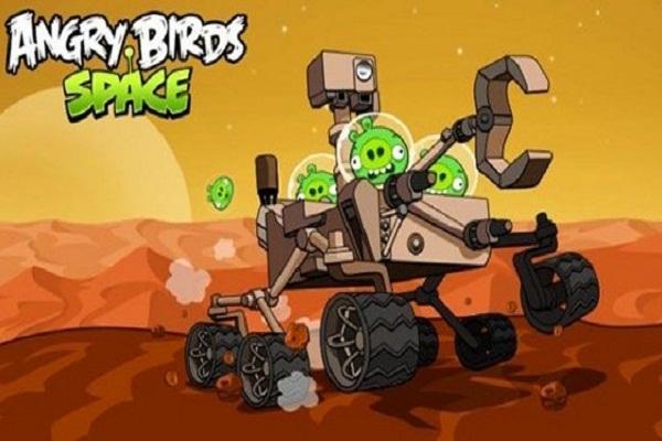Angry Birds Space Se Van A Marte Gracias A La Nasa! (vídeo)