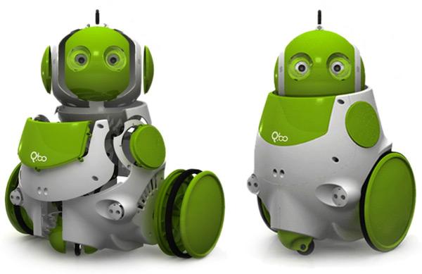 """Conoce a """"Q.bo"""", Nuevo Robot"""