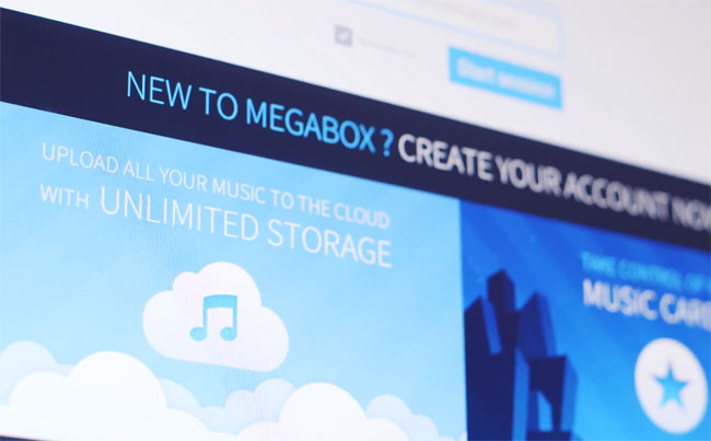 Megaupload Renace En El Servicio De Música MegaBox (vídeo)