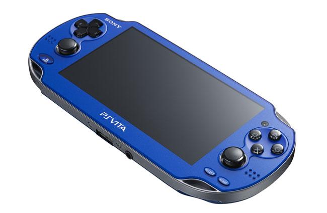 TGS 2012: Nuevos  Colores De Sony PS Vita Rojo Cósmico Y Azul Zafiro