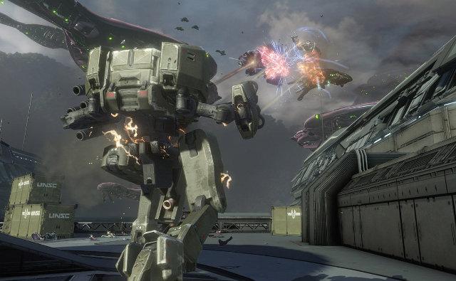 Halo 4 Armas y Vehículos De La UNSC (vídeo)