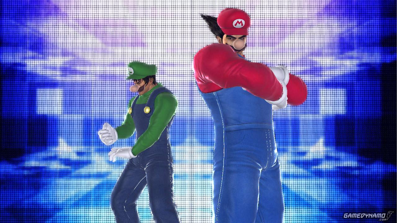 Tekken Tag Tournament 2 al estilo Mario Bros en  Wii U