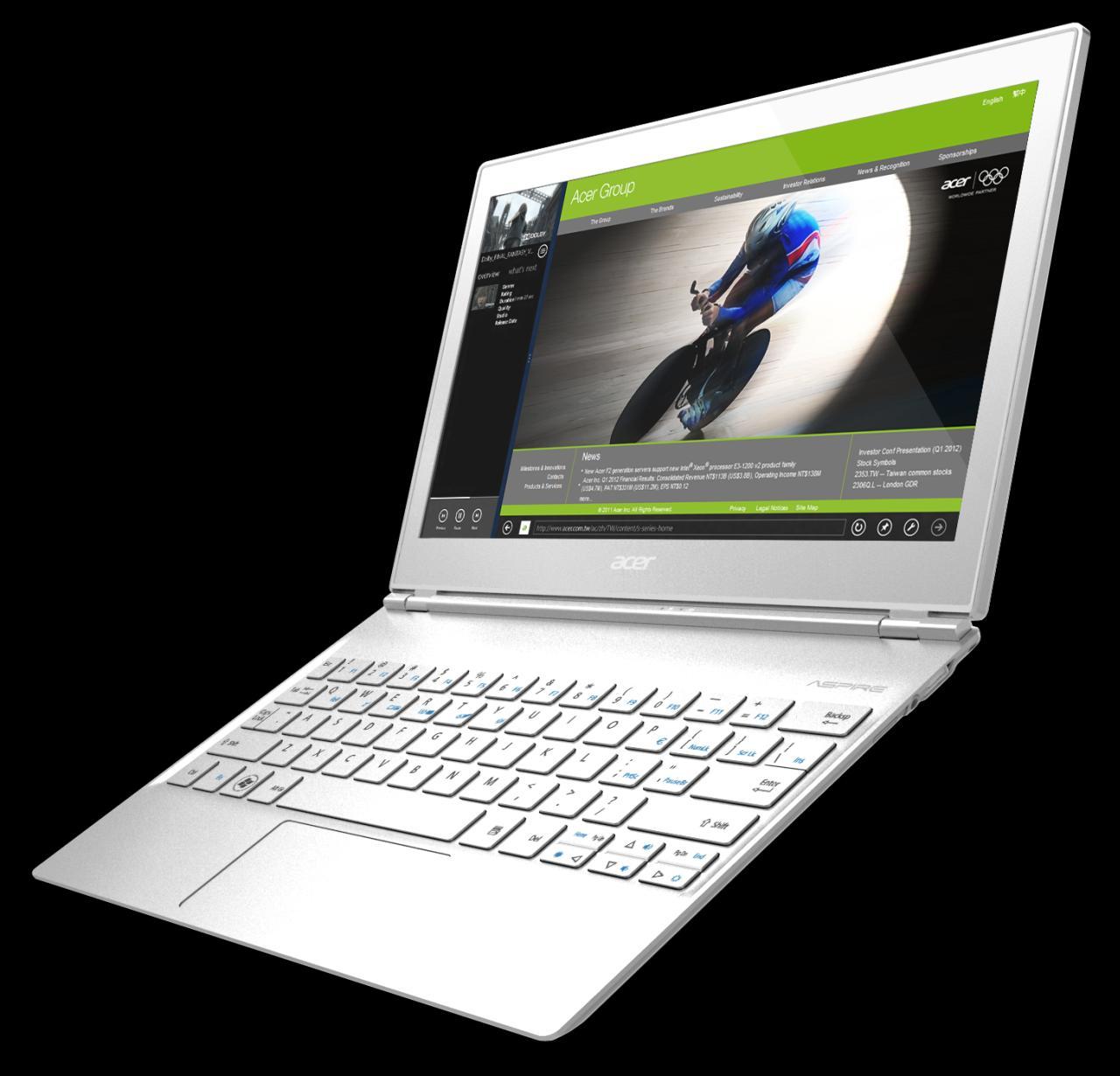 Acer Anuncia Fecha Y Especificaciones De Sus Nuevas Aspire S7 Ultrabooks Con Windows 8 Súper Delgadas Y Touchscreen