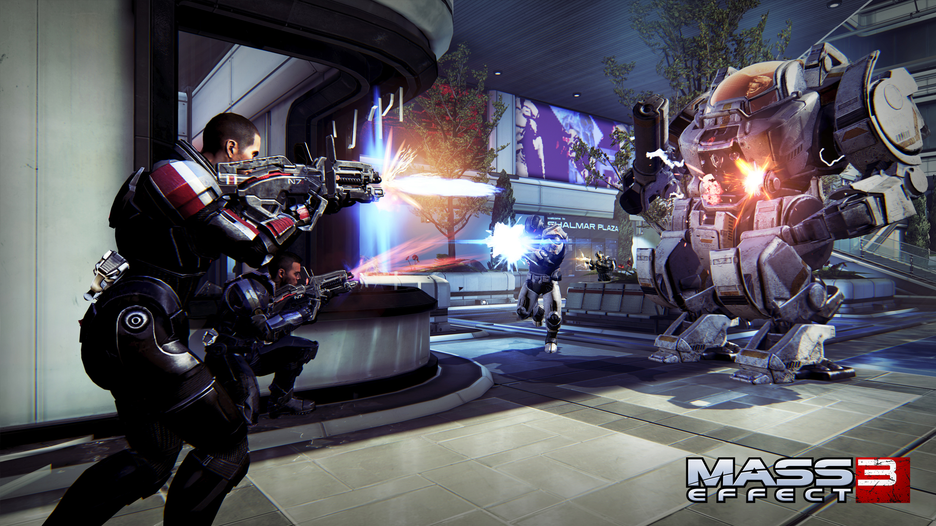 Mass Effect 3 Estrena Pack De Armas Groundside Resistance