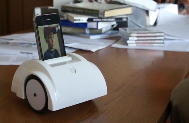 """Helios, El Robot """"Motorizado"""" Por Un iPhone (vídeo)"""