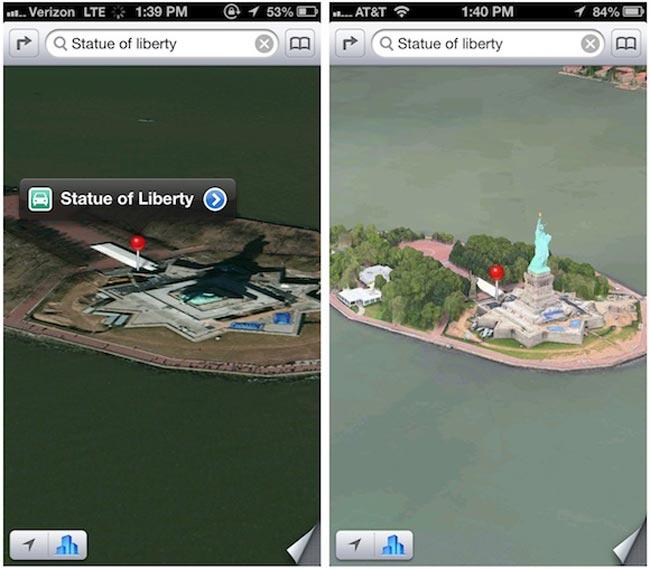 Apple Maps Para iOS 6 Se Actualiza Con Mejoras