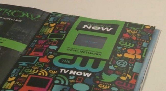 Completamente funcional teléfono Android incorporado en la REVISTA Entertainment Weekly (vídeo)