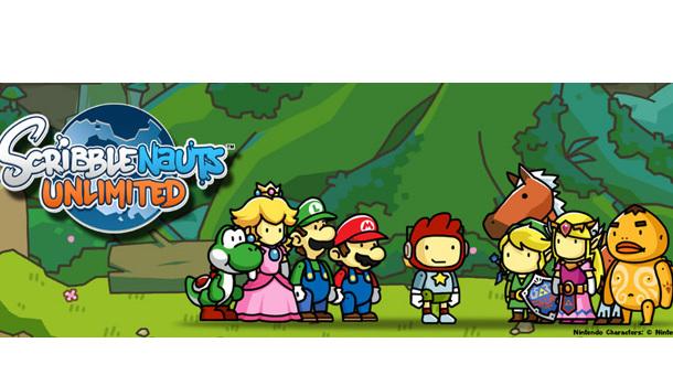 Scribblenauts Unlimited Contará Con Personajes De Nintendo