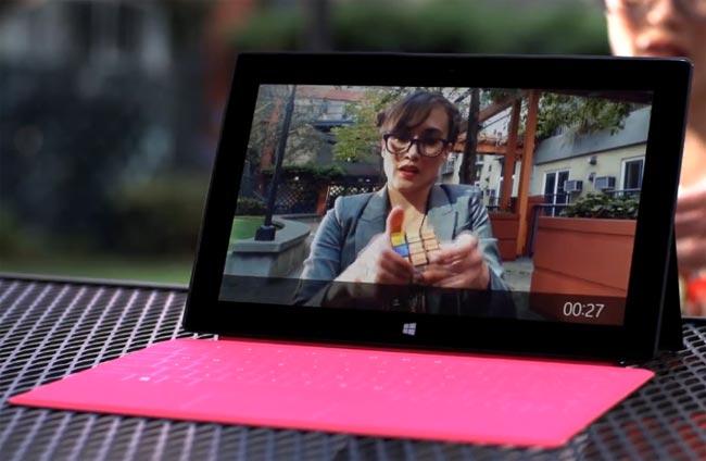 Microsoft Lanza Nuevo Comercial De Su Tableta SURFACE (Vídeo)