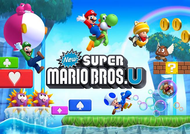 Disfruta una hora del game play de New Super Mario Bros U