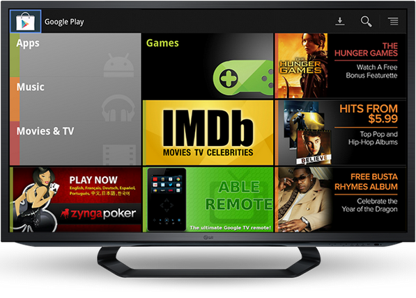 Google TV sale de Estados Unidos a cubrir huecos