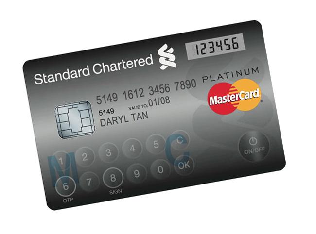 Tarjetas De Crédito Mastercard Con Pantalla LCD y Teclado Incluido