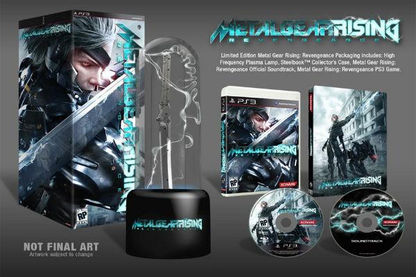 Metal Gear Rising Revengeance nos muestra su edición limitada