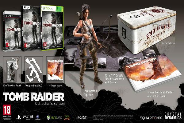 Conoce las ediciones especiales de Lara Croft y Tom Raider
