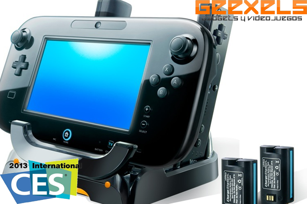 CES 2013: Nyko muestra su estación de carga para Wii U y su Commander Pro