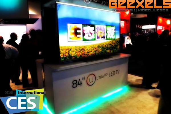 CES 2013: Hisense presenta una pantalla transparente 3D
