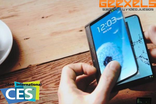 CES 2013: Samsung nombra a sus pantallas OLED flexibles Youm