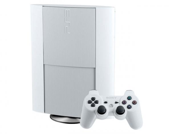 PS3 Super Slim Edición Limitada Blanca Para Canada El 27 De Enero.