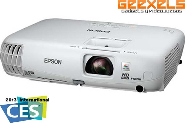 CES 2013: Epson Lanza Proyector 3D HD De Bajo Costo
