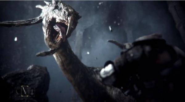 Deep Down con el Nuevo motor gráfico Panta Rhei de Capcom, habrá que darle una oportunidad a los dragones, fue uno de los más aplaudidos.