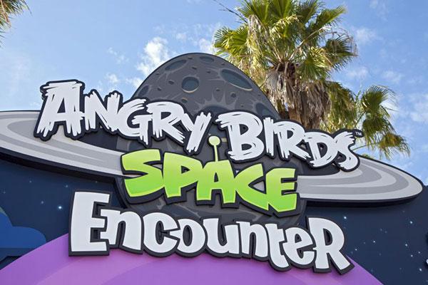 NASA crea parque de Angry Birds Space