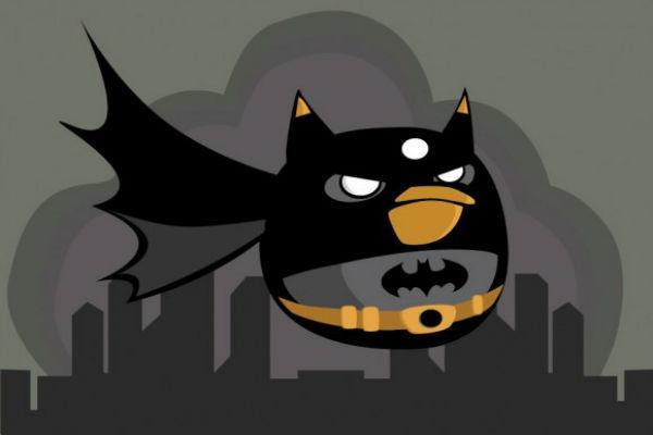 Galería: Angry Birds al estilo Batman