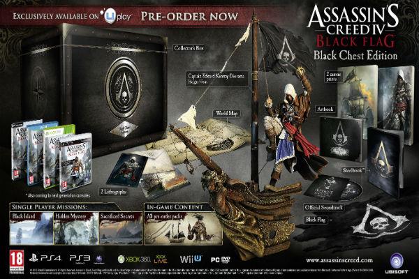 Assassin's Creed IV: Black Flag nos muestra las ediciones especiales