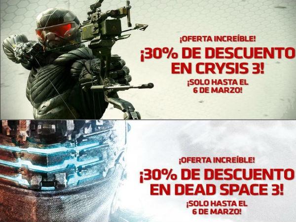 Dead Space3 y Crysis 3