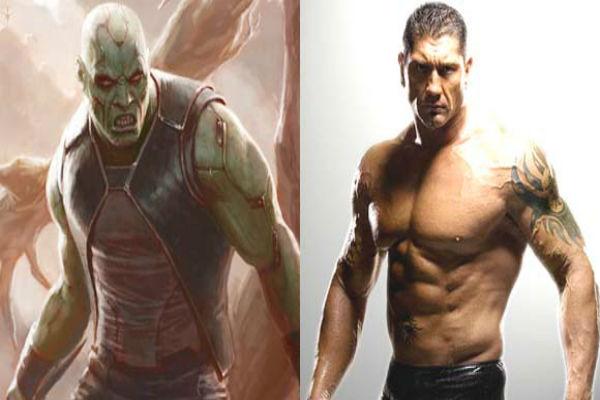 """Batista ex luchador de la WWE formara parte del  elenco de la película de Marvel """"Los Guardianes de la Galaxia"""""""