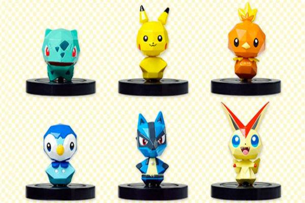 Pokémon Rumble U apuesta por la tecnología de Skylanders y lanza las primeras figuras