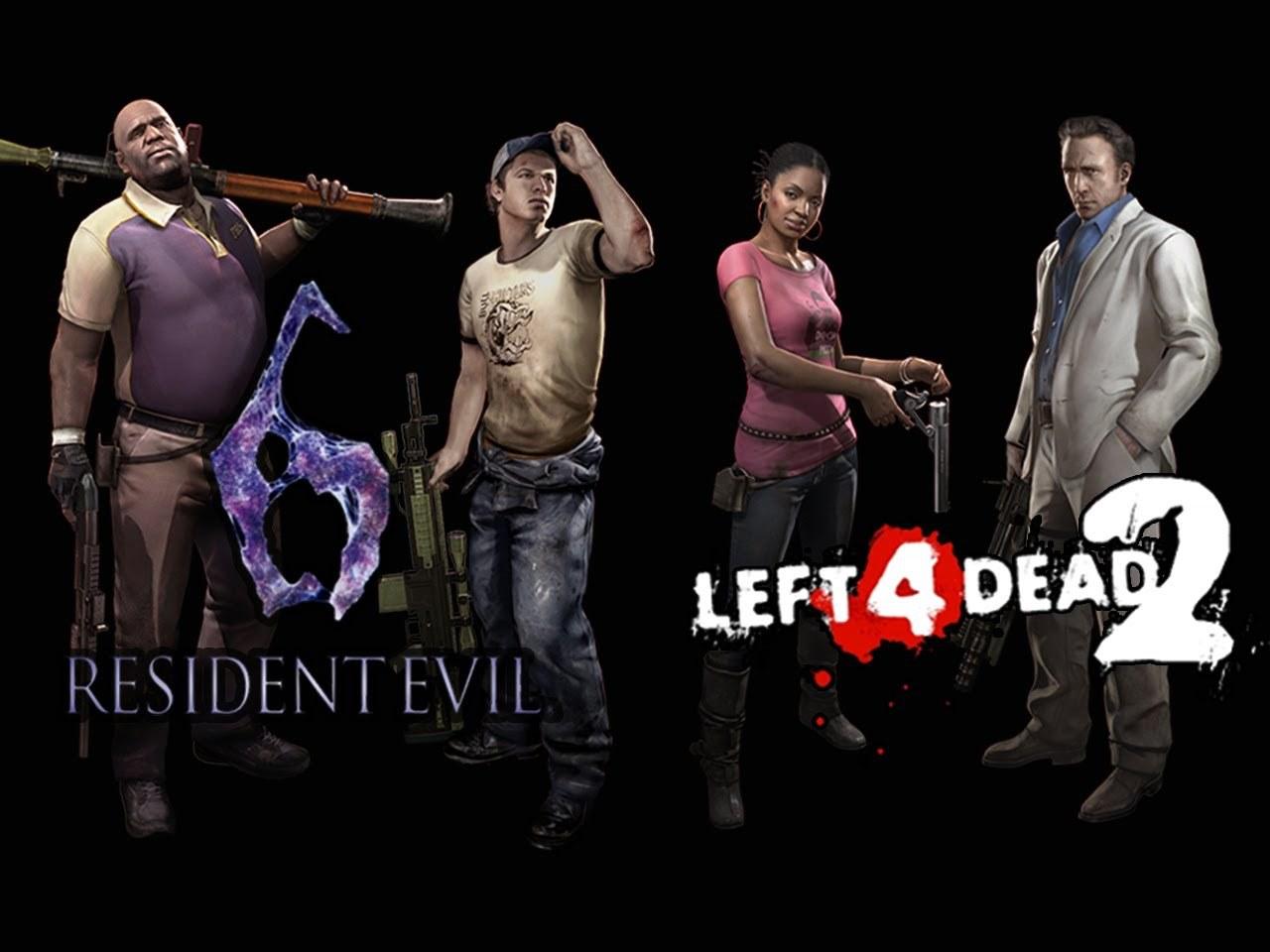 Crossover #RE6 y #Left4Dead2 Anunciado