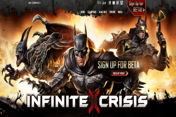 Infinite Crisis será el nuevo juego de Warner Bros