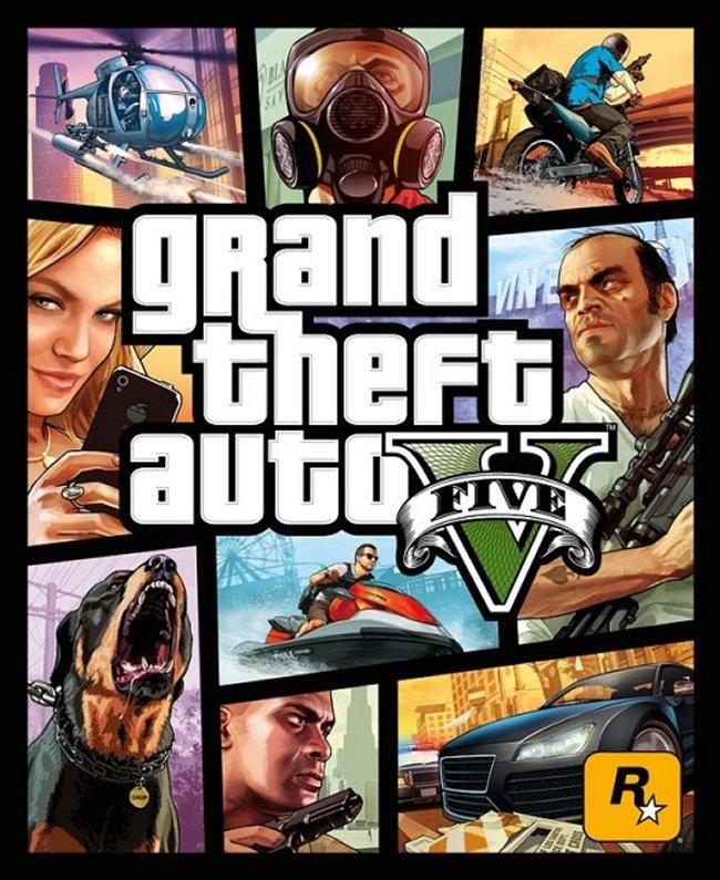 Portada Revelada De Grand Theft Auto V #GTA 5