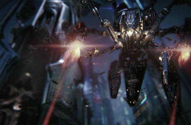 #Unreal Engine 4 Infiltrator Tech Demo Con Impresionantes Gráficos