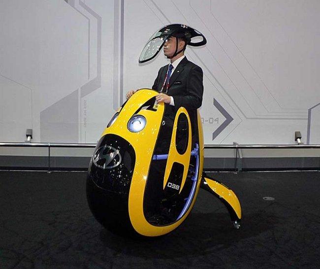 #Hyundai Crea El E4U, El Futuro De Los Vehículos Personales