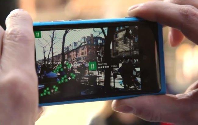 Nokia Añade LiveSight: Identificación De Lugares Mediante Su Cámara A través de Windows Phone 8 (vídeo)