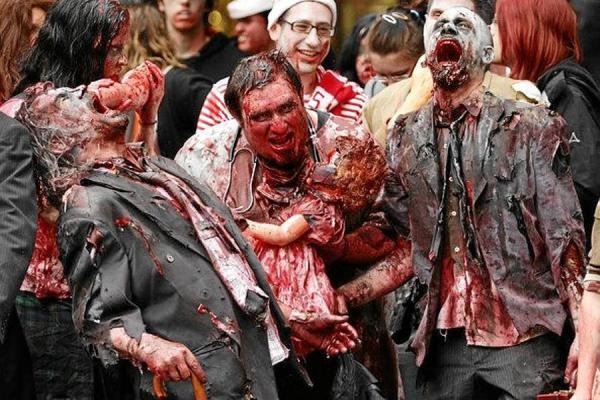 The Outbreak: El Apocalipsis #Zombie De Carne Y Hueso Por Primera Vez En México Y En El Mundo