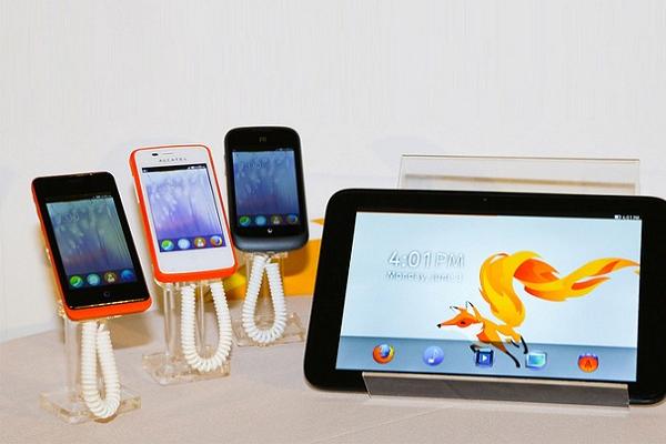 Firefox OS en tablets
