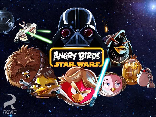 #AngryBirds #StarWars Llegará A Las Consolas En Octubre