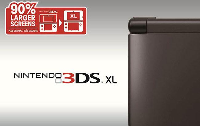 #3DS XL Color Negro Lanzado Al Fin