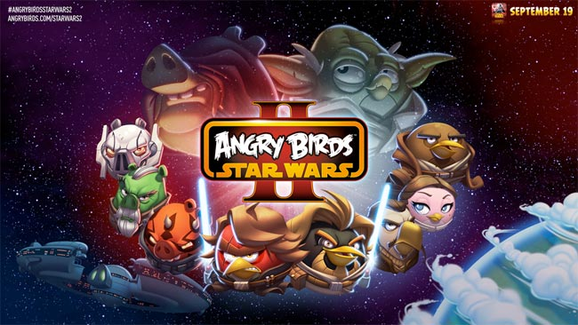 #AngryBirds #StarWars II Confirmado! (vídeo)
